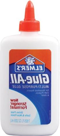 Elmers Glue-All Multi-Purpose Glue - 7.625 Oz, 2 Pack