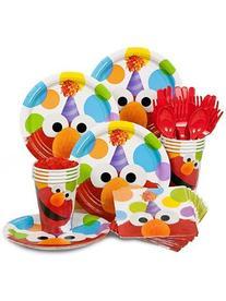 Elmo Birthday Standard Kit Serves 8 Guests