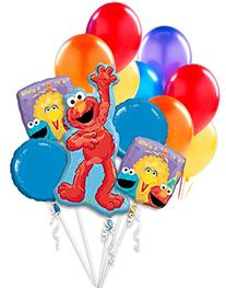 "Elmo Sesame Street Birthday Party Balloon Package - 38"""