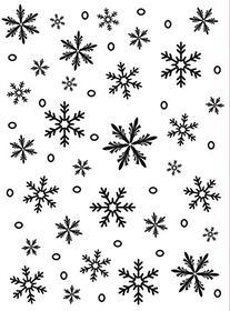 Darice 1215-58 Embossing Folder, 4.25 by 5.75-Inch,