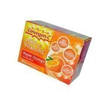 Emergen-C Vitamin C Fizzy Drink Mix Super Orange -- 1000 mg