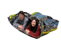 Emergency Survival Mylar Thermal 2 Person Sleeping Bag -
