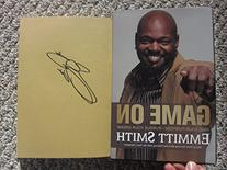 Emmitt Smith Cowboys HOF RB Signed Autographed Book Game On