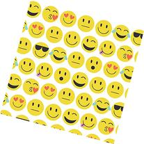 Emoji Love Gift Wrapping Roll - 24in x 15ft
