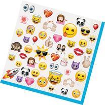 Emoji Party Napkins, 16-Count