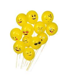 Emoji Universe Series One: Latex Emoji Smiley Face Balloons