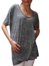 YogaColors Emoticon Womens Burnout Heather Short Sleeve