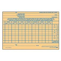 TOPS Employee Time Report Card, Weekly, 6 X 4, 100/Pack,