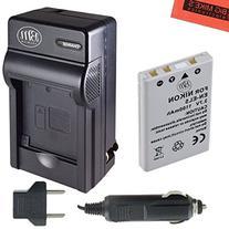 BM Premium EN-EL5 Battery and Battery Charger for Nikon