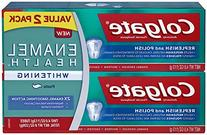 Colgate Enamel Health Whitening Toothpaste, Twin Pack, 2 ea