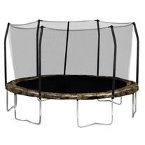Skywalker Trampolines Round Trampoline and Enclosure with