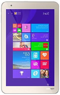 Toshiba Encore-2 Tablet, Intel Z3735F, 1.33 GHz, 64 GB,