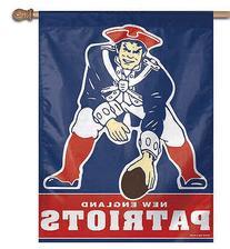 NFL New England Patriots 21527041 Vertical Flag, Small,