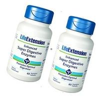 Life Extension Enhanced Super Digestive Enzymes 2-pack