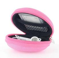 Earphones Plus EP-CASEZPNK Earphone Case pink