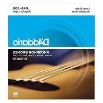 D'Addario EPBB170 Phosphor Bronze Acoustic Bass Strings,