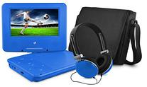 Ematic EPD707BU 7-Inch Portable DVD Player with Matching
