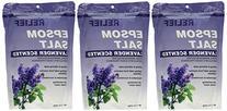 Relief MD Epsom Salt Lavender Scented 3 Packs