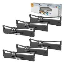 LD Compatible Ribbon Cartridge Replacement for Epson S015337