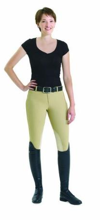 Equistar EquiTuff Ladies Pull-On Breech 26 Regular Light Tan