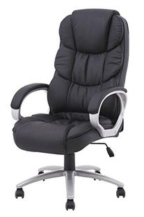 BestOffice Ergonomic PU Leather High Back Office Chair,