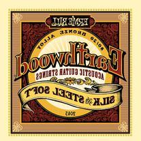 Ernie Ball Earthwood Silk and Steel Soft Acoustic Set, .011