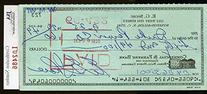 Ernie Shore Jsa Authenticated Signed Check Autograph