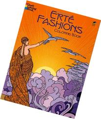 Erté Fashions Coloring Book