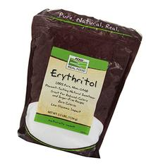Now Foods Pure Erythritol Powder, 2.5 lbs
