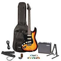 Sawtooth ST-ES-SBB-KIT-3 Electric Guitar Pack, Sunburst with