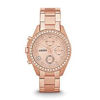 Fossil Women's ES3352 Decker Chronograph Rose Gold-Tone