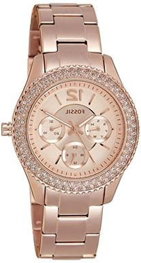 Fossil Women's ES3590 Stella Rose Gold-Tone Stainless Steel