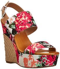 Women's  'Anika' Espadrille Wedge Sandal, Size 10 M - Pink