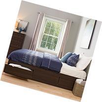 Prepac King Platform Storage Bed - EBK-8400-K