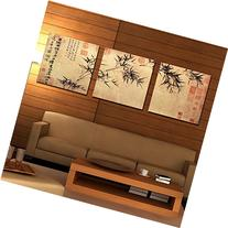 Espritte Art Chinese Painting of Bamboo Canvas Print, 50 x