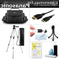 Essential Accessory Kit For Panasonic HC-X920, HC-V720 HC-