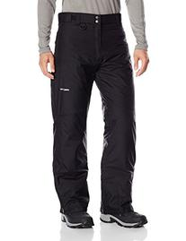 Arctix Men's Essential Snow Pants, Black, Small/Tall
