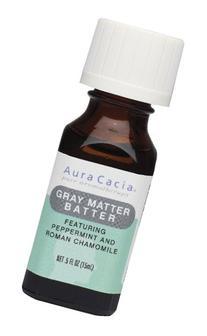 Aura Cacia Essential Solutions Oil Blend, Gray Matter Batter