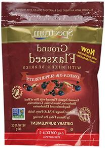 Spectrum Essentials Ground Flaxseed with Mixed Berries, 12