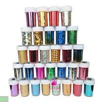 Newest Fashion 25 colors Nail Art Transfer Foil Nail Sticker