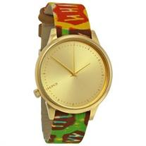 Komono Estelle Vlisco Gold Dial Ladies Watch W2851