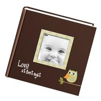 Pioneer Photo Albums EV-246FB/O 200-Pocket Baby Owl Printed