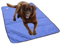 HyperKewl Evaporative Cooling Dog Pad, Large, Blue