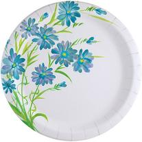 Nicole Home Collection 24 Count Everyday Paper Plate, 10-