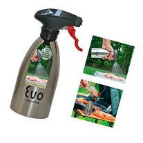 Evo Oil Stainless Steel Trigger Sprayer Bottle Cooking BBQ