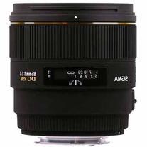 Sigma 85mm F1.4 EX DG HSM Lens For Nikon