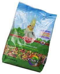 Kaytee Exact Rainbow Bird Food for Cockatiels, 2-Pound