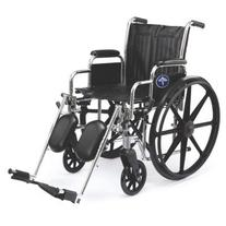 "Medline Excel 2000 Wheelchair, 20"" Wide Seat, Desk-Length"