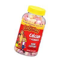 Excellent source of Calcium - L'il Critters Calcium Gummy