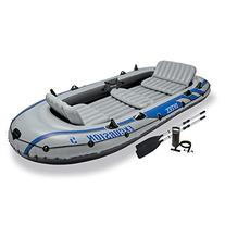 Intex Excursion 5, 5-Person Inflatable Boat Set with
